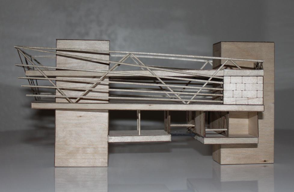 AIS Satellite Campus - Architectural Models